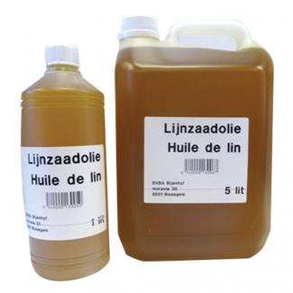 Huile de lin 1 litre